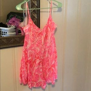 Lilly Pulitzer Pleater Romper